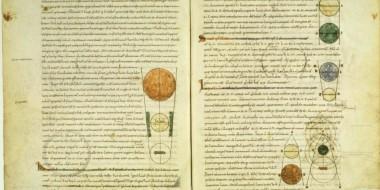 manoscritto latino del Timeo